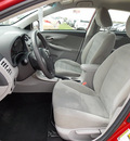 toyota corolla 2011 red sedan le gasoline 4 cylinders front wheel drive automatic with overdrive 77469
