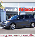 toyota matrix 2007 gray hatchback gasoline 4 cylinders front wheel drive 5 speed manual 79119