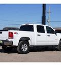 gmc sierra 1500 2008 white sle1 gasoline 8 cylinders 4 wheel drive automatic 79119