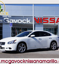 nissan maxima 2012 white sedan 3 5 s gasoline 6 cylinders front wheel drive automatic 79119
