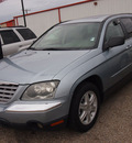 chrysler pacifica 2006 lt  blue suv touring 6 cylinders automatic 77301