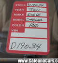 dodge charger 2011 maroon sedan r t 8 cylinders automatic 33912