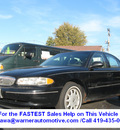 buick century 1999 black sedan custom v6 automatic 45840