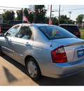 kia spectra 2006 blue sedan lx gasoline 4 cylinders front wheel drive automatic 07702