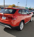 bmw x1 2013 amber xdrive35i gasoline 6 cylinders all whee drive automatic 99352