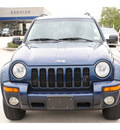 jeep liberty 2003 blue suv limited 6 cylinders automatic 77090