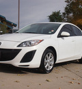 mazda mazda3 2011 white sedan i touring 4 cylinders automatic 80301