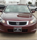 honda accord 2008 dk  red sedan lx gasoline 4 cylinders front wheel drive automatic with overdrive 77477