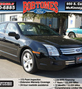 ford fusion 2008 black sedan i4 se gasoline 4 cylinders front wheel drive automatic 75070