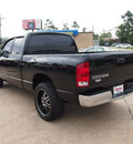 dodge ram 1500 2003 black pickup truck 8 cylinders automatic with overdrive 77657