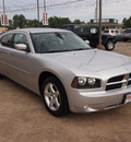 dodge charger 2010 silver sedan sxt 6 cylinders automatic 77657