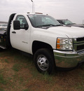 chevrolet silverado 3500hd cc 2012 white work truck 8 cylinders automatic 78064