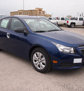 chevrolet cruze 2013 blue sedan ls auto 4 cylinders automatic 78064