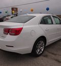 chevrolet malibu 2013 white sedan lt 4 cylinders automatic 78064