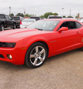 chevrolet camaro 2011 orange coupe lt 6 cylinders automatic 78064