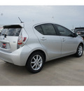 toyota prius c 2012 silver hatchback two 4 cylinders automatic 77469