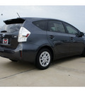 toyota prius v 2012 gray wagon two 4 cylinders automatic 77469