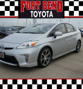 toyota prius 2012 silver hatchback two 4 cylinders automatic 77469