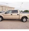 ford f 150 2010 gold xlt gasoline 8 cylinders 2 wheel drive automatic 77074