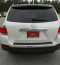 toyota highlander 2011 white suv se 6 cylinders automatic 75604