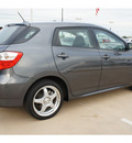 toyota matrix 2010 dk  gray hatchback s gasoline 4 cylinders all whee drive automatic 77034