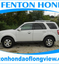 ford escape 2011 white suv limited 6 cylinders automatic 75606