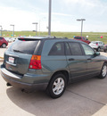 chrysler pacifica 2005 dk  blue suv gasoline 6 cylinders front wheel drive automatic 76116
