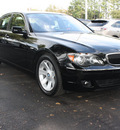 bmw 7 series 2008 black sedan 750i gasoline 8 cylinders rear wheel drive automatic 27616