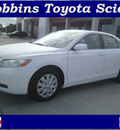 toyota camry 2008 white sedan le 4 cylinders automatic 75503