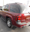 chevrolet trailblazer 2005 dark red suv lt gasoline 6 cylinders 4 wheel drive automatic 14224