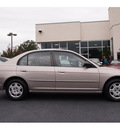 honda civic 2002 tan sedan lx gasoline 4 cylinders front wheel drive automatic 07702