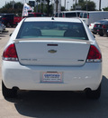 chevrolet impala 2012 white sedan ltz 6 cylinders automatic 77090
