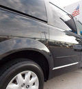 chrysler town and country 2008 black van lx 6 cylinders automatic with overdrive 77099