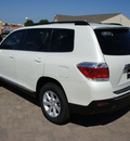 toyota highlander 2012 blizzard suv 6 cylinders 5 speed automatic 76087