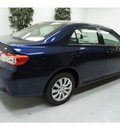 toyota corolla 2013 blue sedan le gasoline 4 cylinders front wheel drive automatic 91731