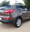 kia sportage 2013 brown lx 4 cylinders automatic 75150