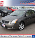 nissan sentra 2009 brown sedan fe gasoline 4 cylinders front wheel drive automatic 78502