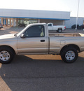 toyota tacoma 2001 gold pickup truck gasoline 4 cylinders dohc rear wheel drive automatic 77859