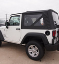 jeep wrangler 2013 white suv sport gasoline 6 cylinders 4 wheel drive 6 speed manual 76011