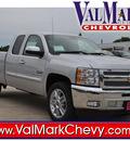 chevrolet silverado 1500 2013 silver pickup truck lt flex fuel v8 2 wheel drive automatic 78130