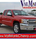 chevrolet silverado 1500 2013 red pickup truck lt flex fuel v8 2 wheel drive automatic 78130