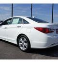 hyundai sonata 2013 white sedan limited gasoline 4 cylinders front wheel drive automatic 78550