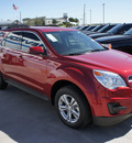chevrolet equinox 2013 red lt gasoline 4 cylinders front wheel drive 6 speed automatic 76087