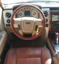 ford f 150 2010 dk  red king ranch 8 cylinders automatic 76049