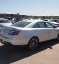 ford taurus 2013 silver sedan sho 6 cylinders automatic 76108