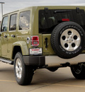 jeep wrangler 2013 commando green suv 6 cylinders automatic 62034