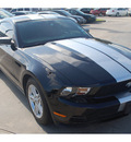 ford mustang 2010 black coupe 6 cylinders automatic 77090