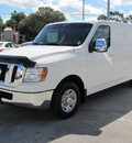 nissan n v 2500 2012 white van sv gasoline 6 cylinders rear wheel drive automatic 33884