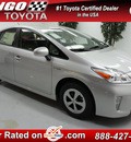 toyota prius 2012 silver hatchback four hybrid 4 cylinders front wheel drive automatic 91731