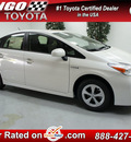 toyota prius 2012 white hatchback three hybrid 4 cylinders front wheel drive automatic 91731